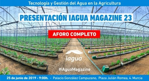 Aforo completo presentación iAgua Magazine 23 agua y agricultura
