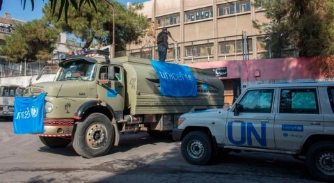 Cerca 2 millones sirios viven agua Alepo
