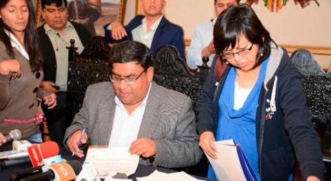Gobierno boliviano financia proyectos agua potable zona Sur y Arrumani
