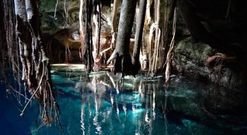 cenotes México, agua dadora vida
