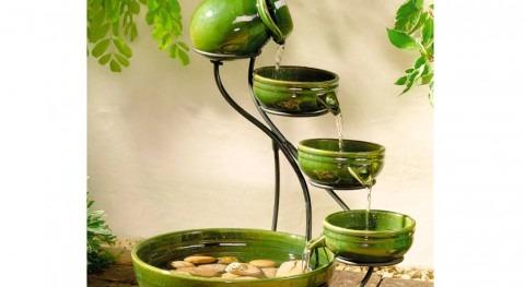 agua como elemento decorativo