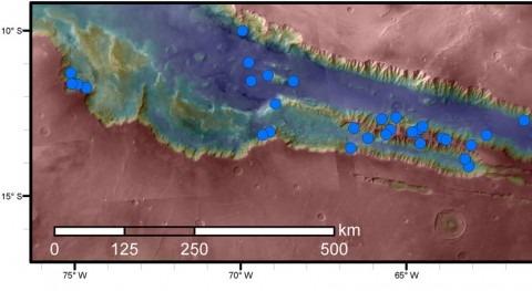 Hay tanta agua Marte como desierto más seco Tierra