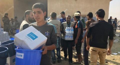 mitad niños Mosul carecen acceso agua potable