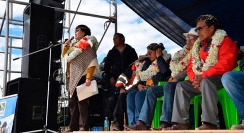 Más 1.000 familias Alto, Bolivia, se beneficiarán proyectos agua potable