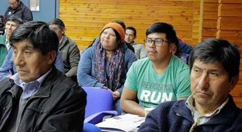 Formación gestión agua potable líderes comunitarios chilenos