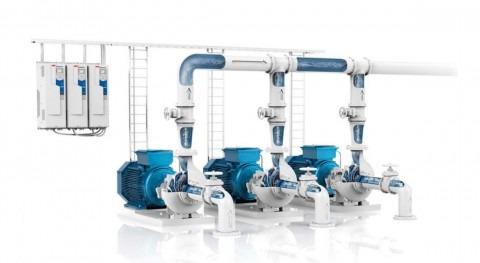 Tamega: suministrando variadores ABB industria agua 1996