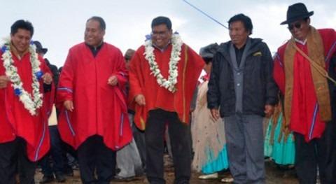 Bolivia lleva alcantarillado y planta tratamiento aguas residuales Warisata