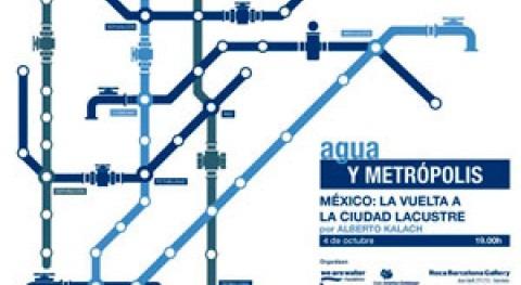 Ciclo: 'Agua y Metrópolis. México: vuelta ciudad lacustre'