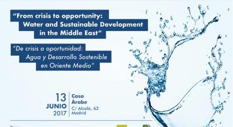"""Seminario CEMOFPSC """" crisis oportunidad: Agua y Desarrollo Sostenible Oriente Medio"""""""
