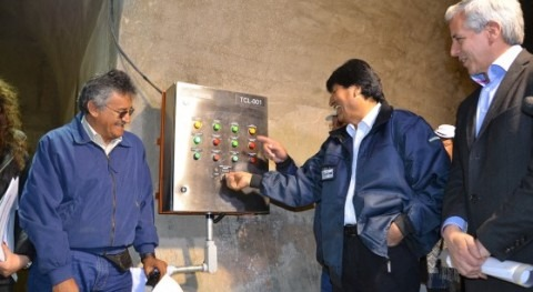 presa Misicuni garatizará abastecimiento Cochabamba partir 2017