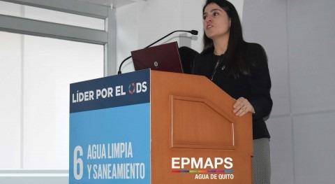 Disminución huella hídrica, misión Mesa ODS 6 liderada Agua Quito