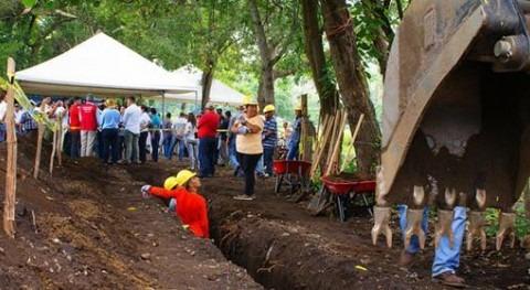 España impulsa nuevos servicios agua potable y saneamiento 3.700 personas Salvador