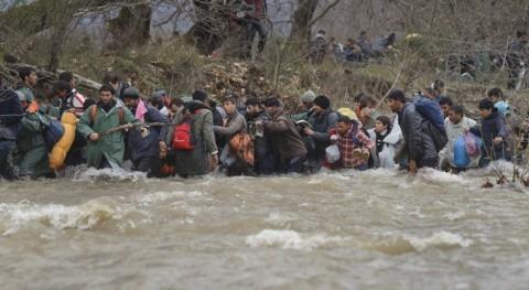 agua refugiados