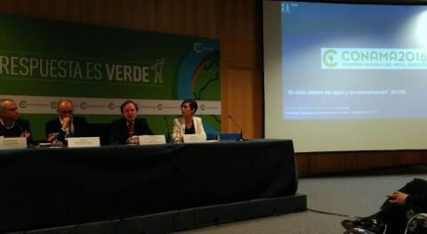 """#Conama2016 Beatriz Rubio: """" mundo no falta agua, falta imaginación"""""""