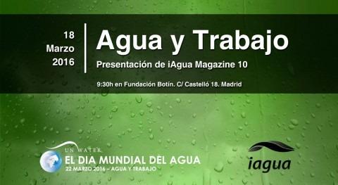 presentación iAgua Magazine 10 reunirá al sector celebrar Día Mundial Agua 2016