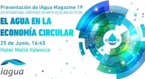 Presentación de iAgua Magazine 19: el Agua en la Economía Circular
