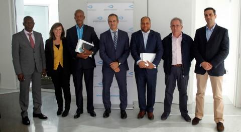 empresa angoleña Aguas Manaje conoce tecnología instalaciones Global Omnium