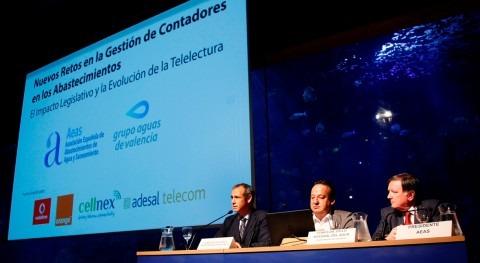 sector agua analiza Valencia tendencias telectura contadores agua