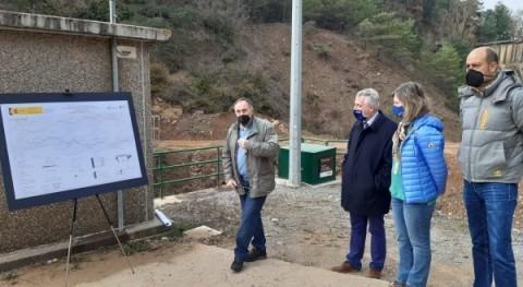 derivación aguas barranco Bailín, Sabiñánigo, punto concluirse