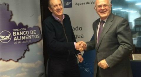 Aguas Valladolid colabora Banco Alimentos
