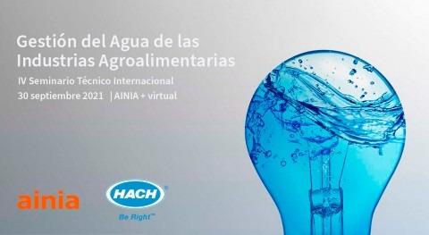"""Hach participa como sponsor Seminario """"Gestión Agua Industrias Agroalimentarias"""""""