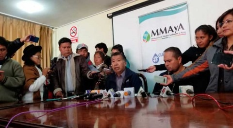 alcaldía Alto, Bolivia, retrasa obras previstas agua y saneamiento