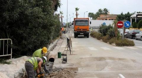 Hidralia invierte más 90.000 euros mejorar red alcantarillado Estepona