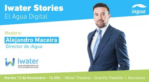Moderación iWater Stories: Agua Digital Eurecat, Indra y Tecnio