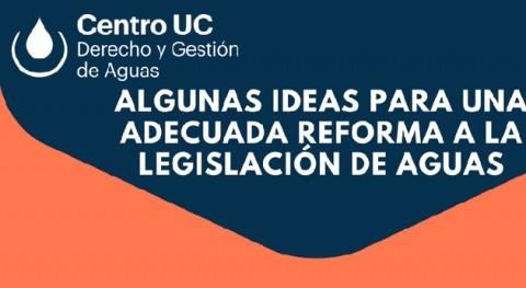 pequeño aporte discusión reformas legislación aguas