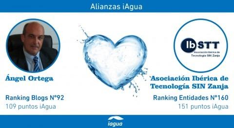 Alianzas iAgua: Ángel Ortega liga blog IBSTT