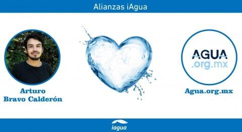 Alianzas iAgua: Arturo Bravo Calderón liga blog Agua.org.mx