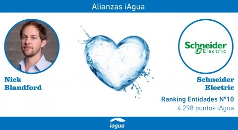 Alianzas iAgua: Nick Blandford liga blog Schneider Electric