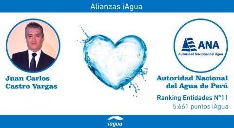 Alianzas iAgua: Juan Carlos Castro Vargas liga blog ANA Perú