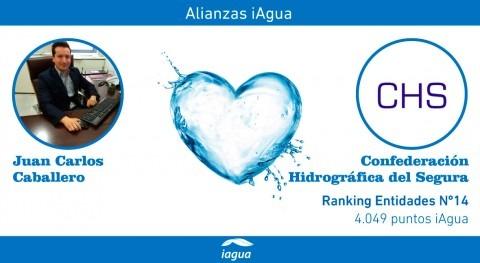 Alianzas iAgua: Juan Carlos Caballero liga blog Confederación Hidrográfica Segura