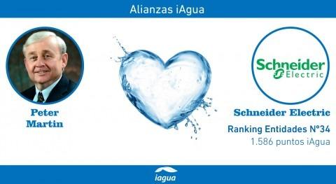 Alianzas iAgua: Peter Martin liga blog Schneider Electric