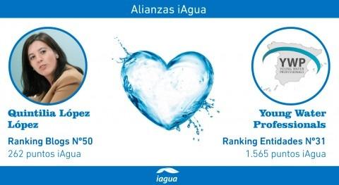 Alianzas iAgua: Quintilia López liga blog Young Water Professionals