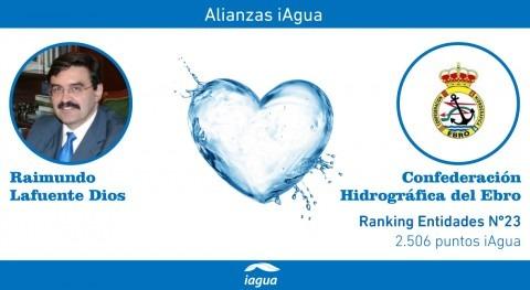 Alianzas iAgua: Raimundo Lafuente Dios liga blog Confederación Hidrográfica Ebro