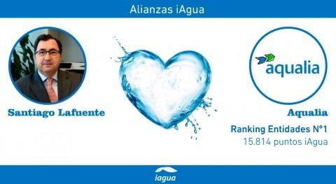 Alianzas iAgua: Santiago Lafuente liga blog Aqualia