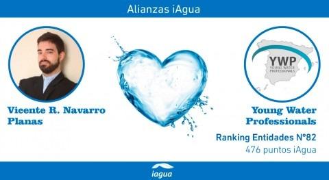 Alianzas iAgua: Vicente R. Navarro liga blog Young Water Professionals