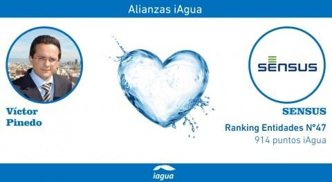 Alianzas iAgua: Víctor Pinedo liga blog Sensus