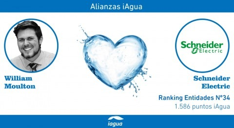 Alianzas iAgua: William Moulton liga blog Schneider Electric
