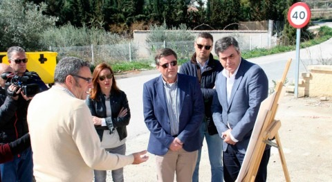 Gobierno Murcia inicia obras aliviadero al colector general Caravaca Cruz