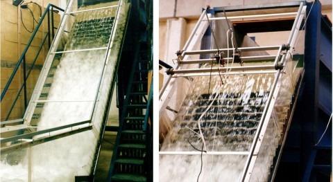 Metodología que reproduce comportamiento flujos no aireados aliviaderos escalonados