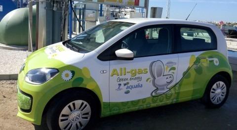 Presentado primer vehículo que testará biogás proyecto All-gas, Chiclana