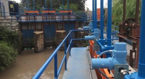 Telecontrol y Regulación automática compuertas Canal Almahue