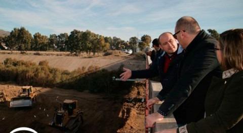 Andalucía rehabilita desembocadura río Almanzora que permitirá drenaje