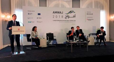 agua y financiación Oriente Medio centran presentación Almar AMWAJ18
