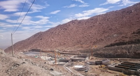 Alsina suministra encofrados Planta Tratamiento Aguas Cerro Verde, Arequipa