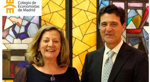 Amelia Pérez Zabaleta, nueva decana Colegio Economistas Madrid