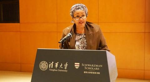 """Amina Mohammed: """"Necesitamos que jóvenes defiendan y dirijan acción climática global"""""""